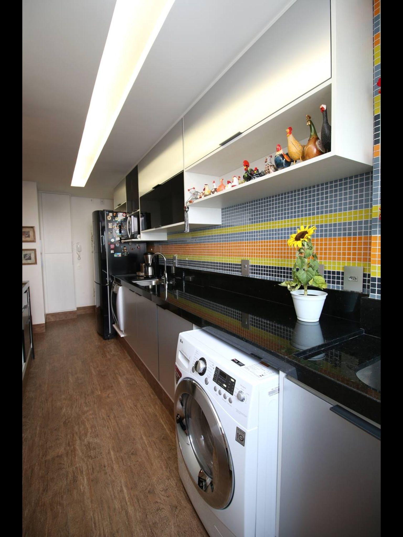 Cozinha e lavanderia juntas com luxo casa e decora o for Cocina y lavanderia juntas
