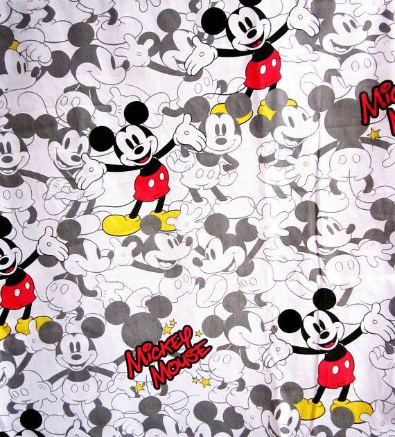 Mickey fabric paper idea disney desenho mickey - Mickey mouse retro wallpaper ...