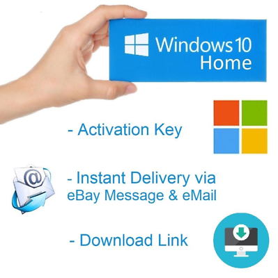 Ebay Advertisement Microsoft Windows 10 Home Key 32 64 Bit Oem Product Ms Win Activation Schlussel In 2020 Microsoft Activities Email Download