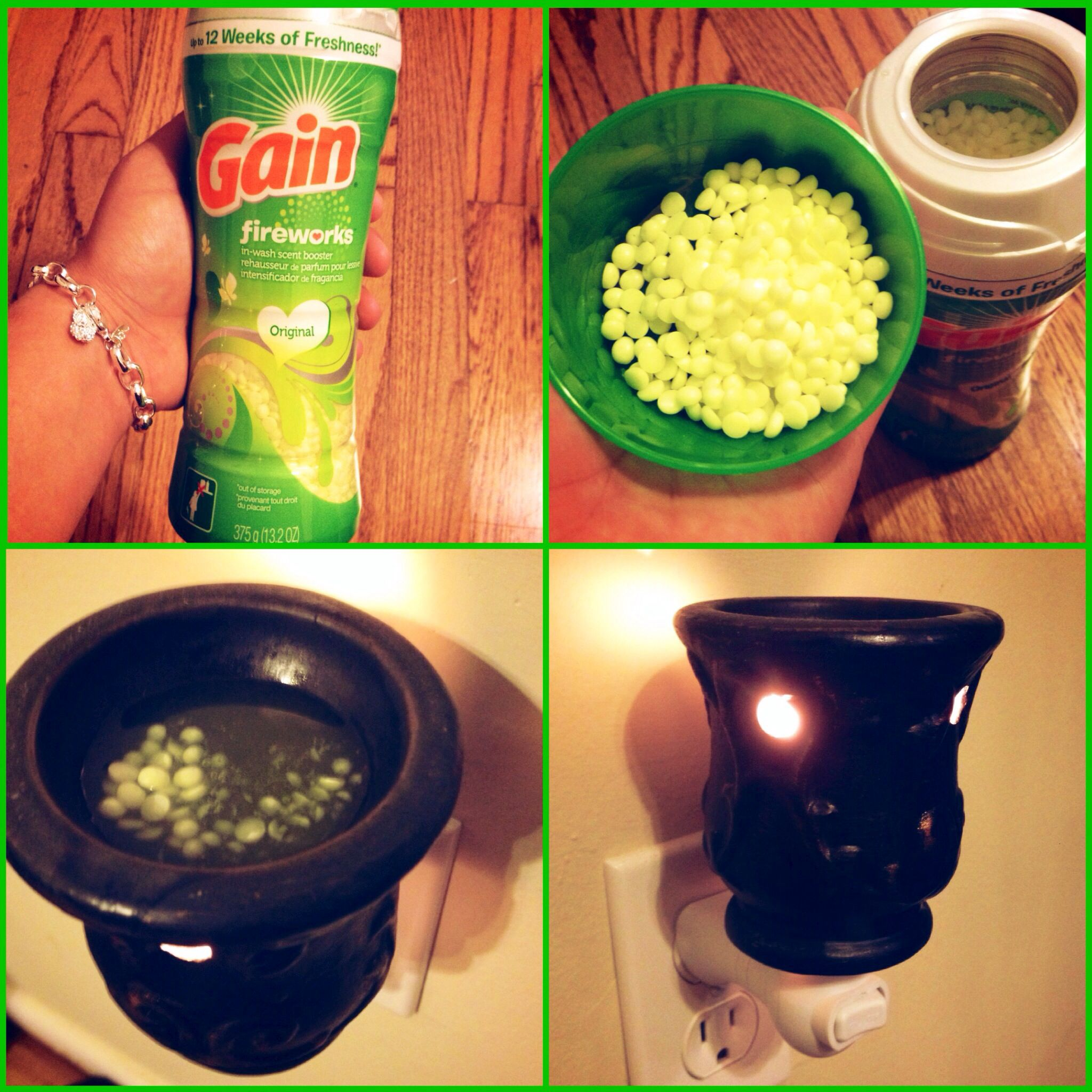 Use Gain In Wash Scent Booster Beads In Your Scent Warmers