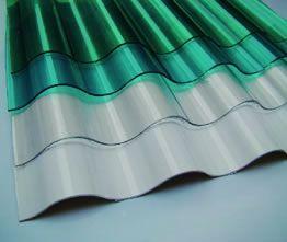 Polycarbonate Corrugated Sheet Corrugated Plastic Roofing Plastic Roofing Corrugated Sheets