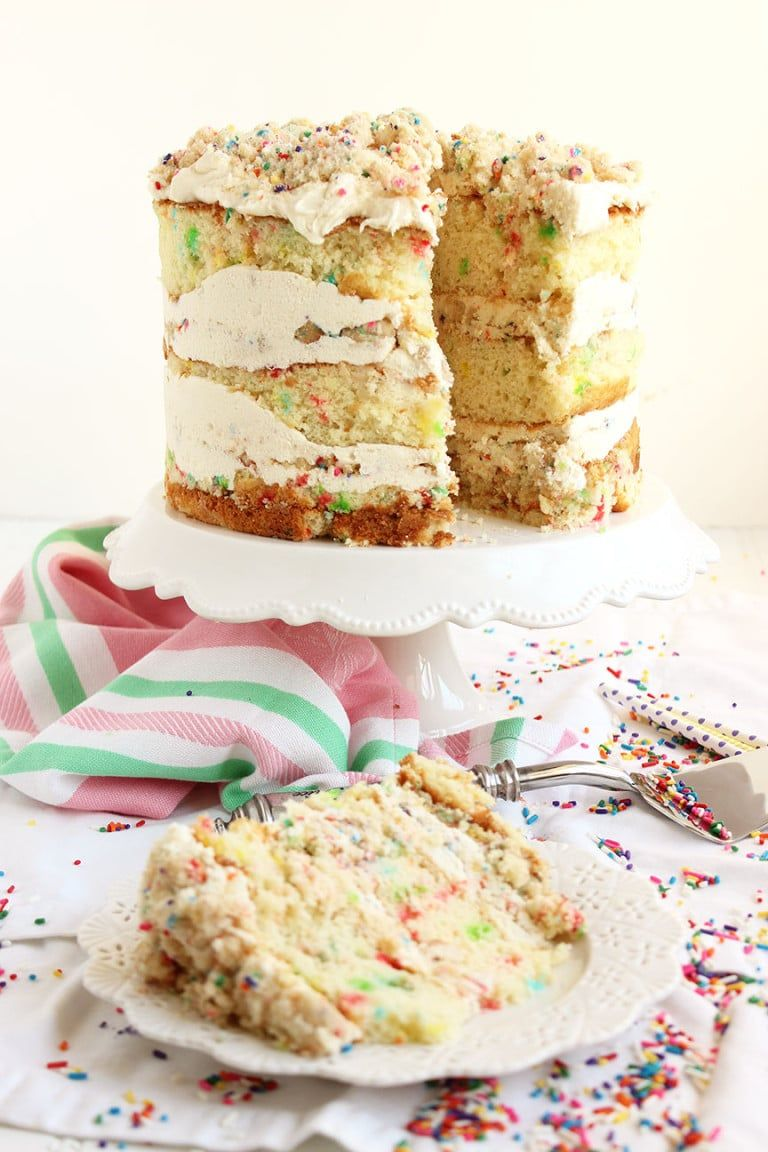 MilkBar Birthday Layer Cake