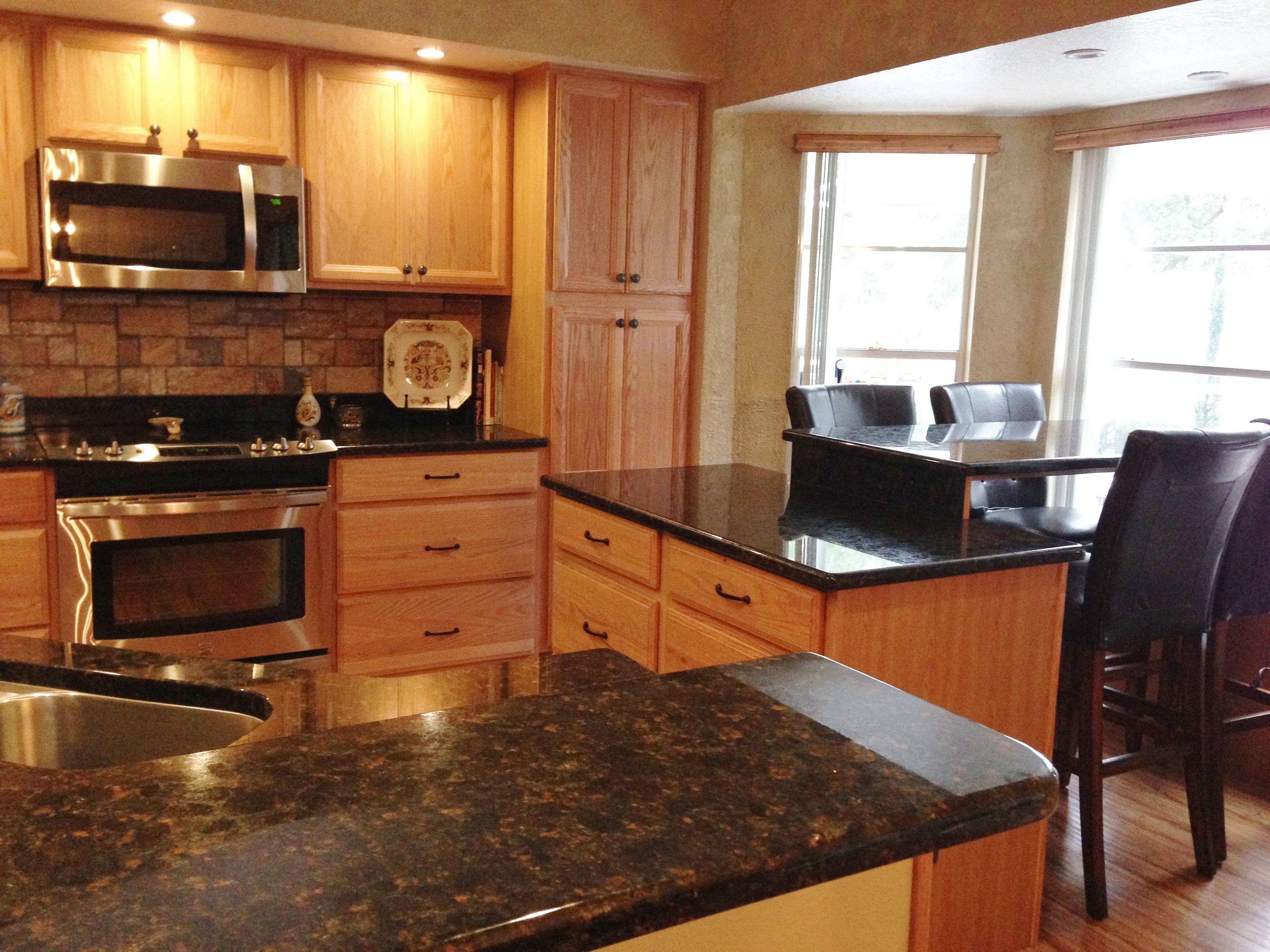 Kitchen remodel. American Woodmark soft close cabinets via Home ...