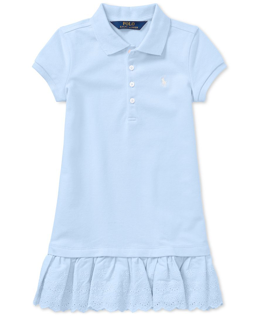 1c27dcf9f Polo Ralph Lauren Pleated Polo Dress, Toddler Girls | Dresses❤ in ...