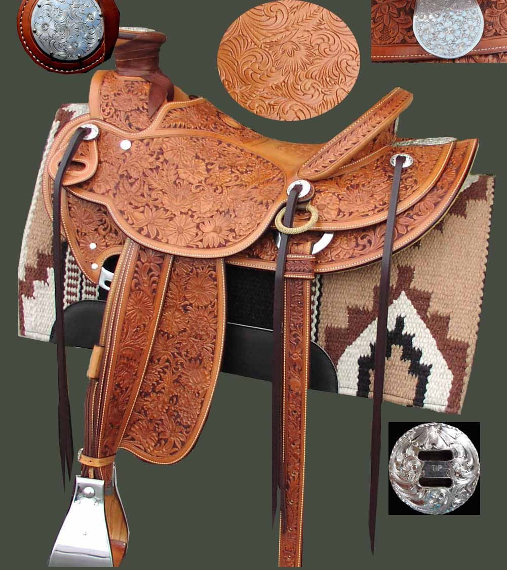 Custom Saddle 771 by Ken Tipton Item# 771