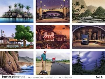 FamousFrames Storyboards, Animatic Artists, Storyboard Artists, Bob Towner