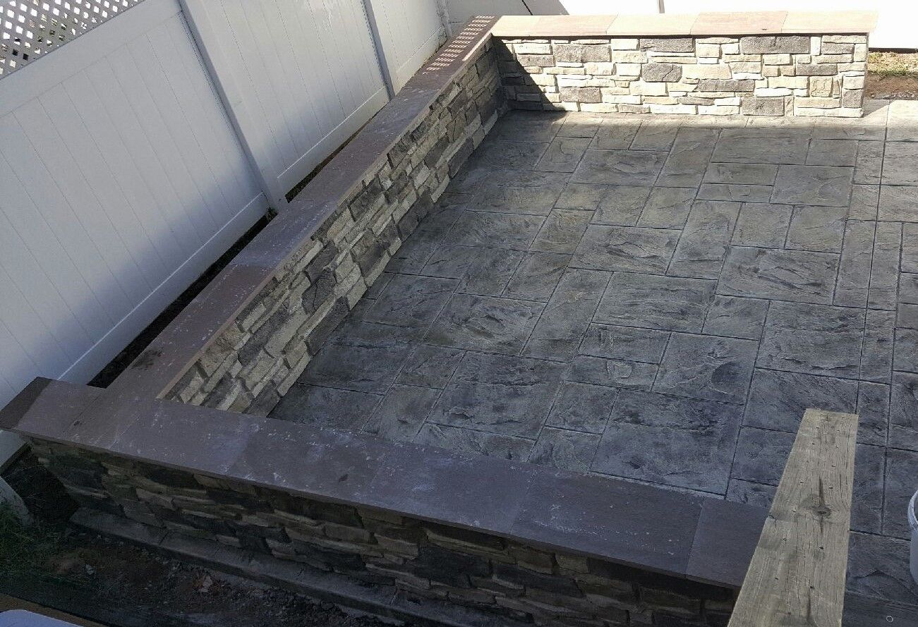 Pin On Decorative Concrete Walls