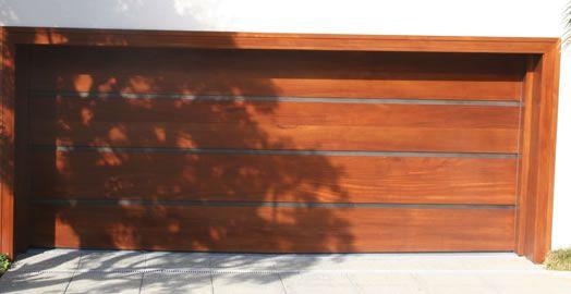 Woodstainless Garage Door From Hill Country Door Lot 88 Montane
