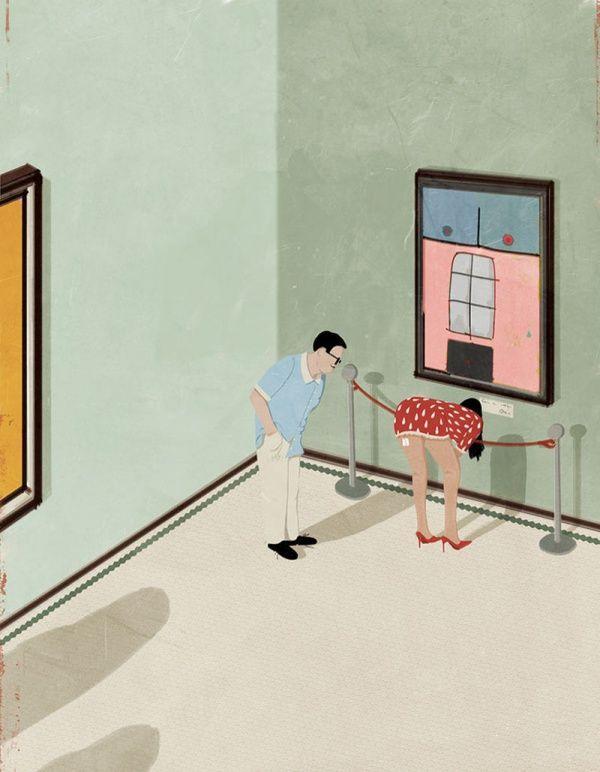 30 poéticas ilustraciones de un dibujante japonés para ...