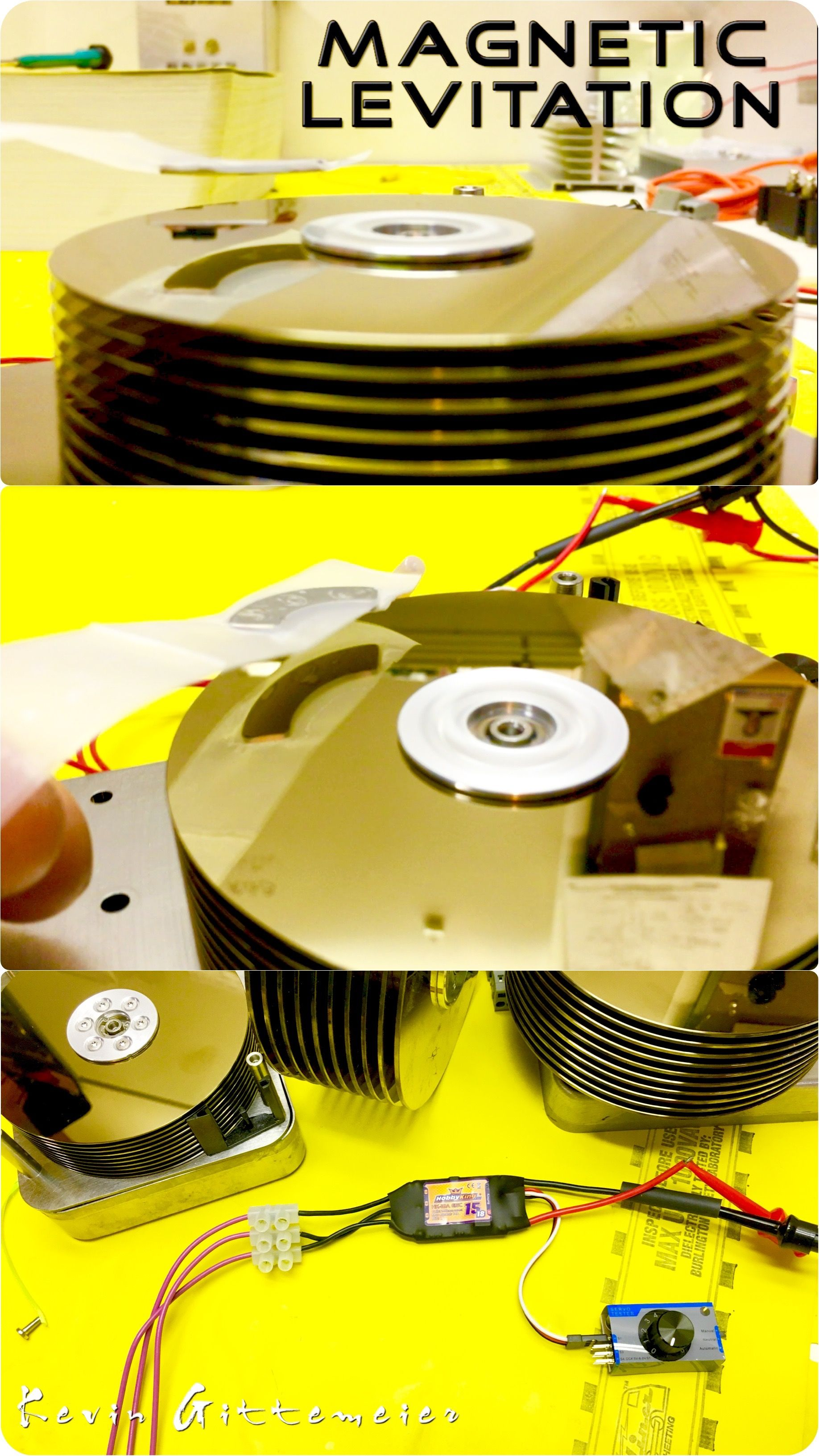 Pin By Samwise On Things To Do Magnets Magnetic Levitation Turnigy Receiver Controlled Off Switch Gt R C Electronics Fun With Hard Drives