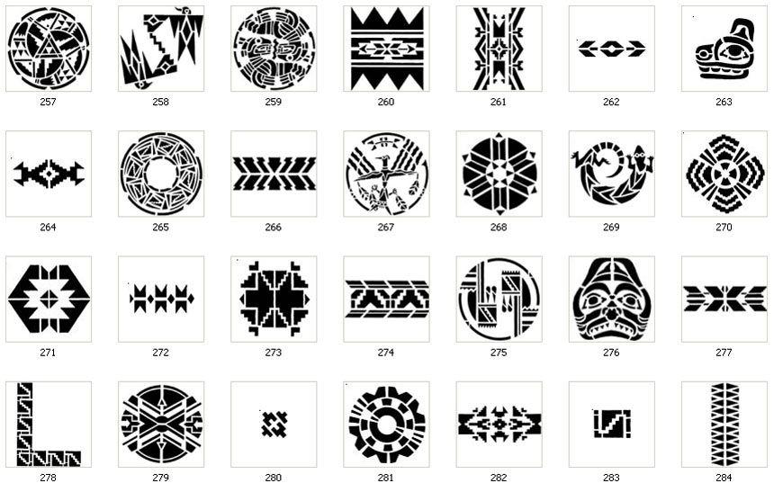 tribal symbology tribe is derived from trebinje travunia tribalia tribal elements symbols. Black Bedroom Furniture Sets. Home Design Ideas