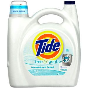 Tide Free Gentle Detergent 150 Fl Oz Secondskincare Tide
