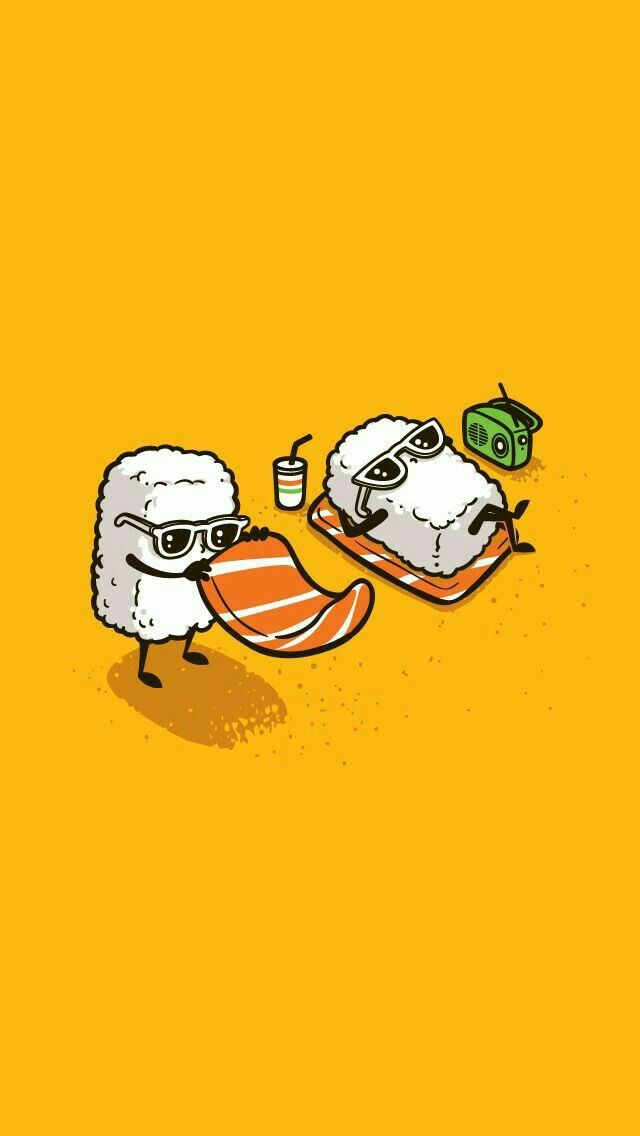 Pin By Babythung On Arts Funny Illustration Food Cartoon