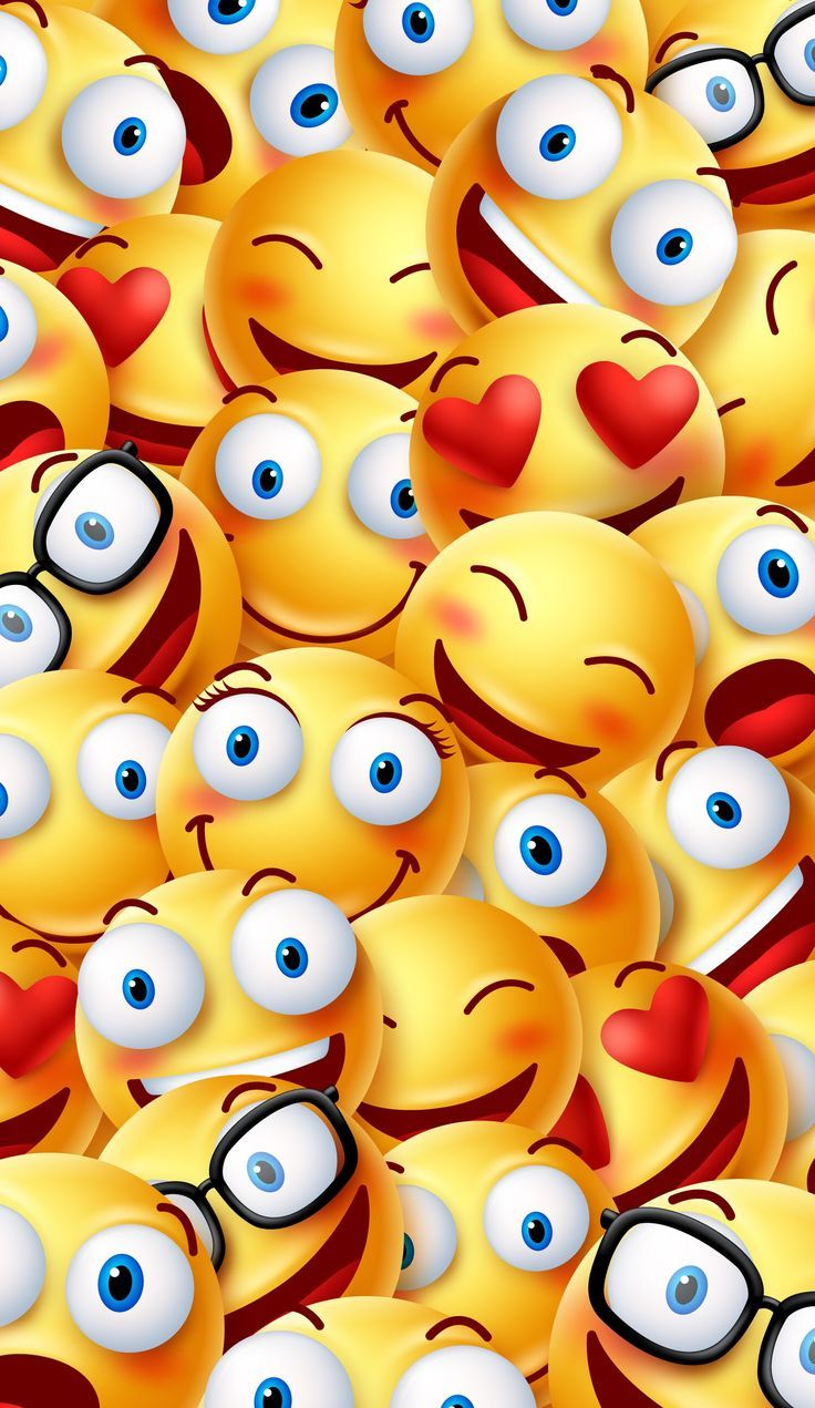 38 best emoji wallpaper images on iphone Papel de parede