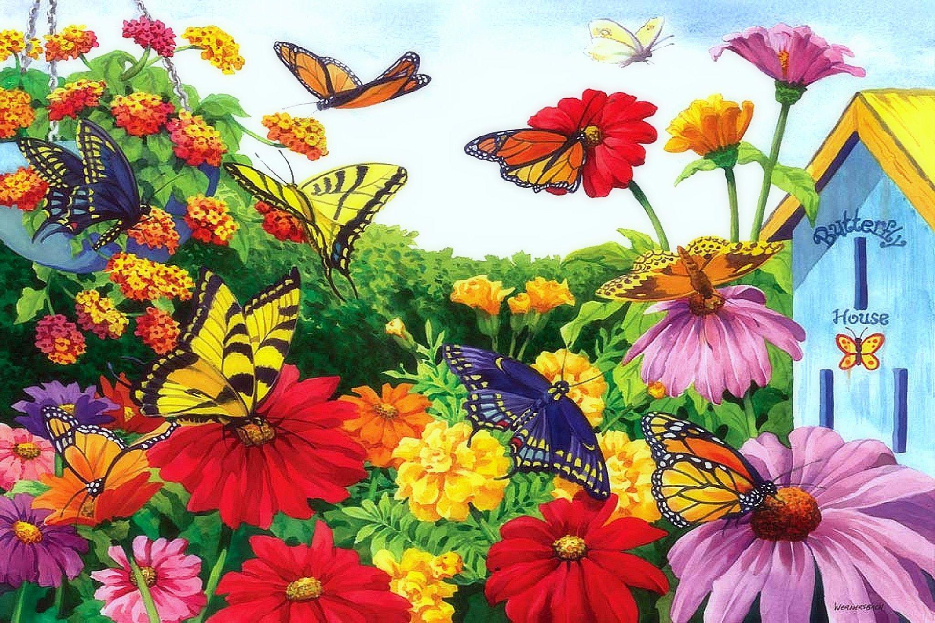 Мир цветов картинки для детей