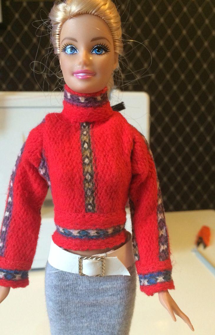 pullover f r barbie selber n hen das video dazu kommt in k rze barbie kleidung selber n hen. Black Bedroom Furniture Sets. Home Design Ideas