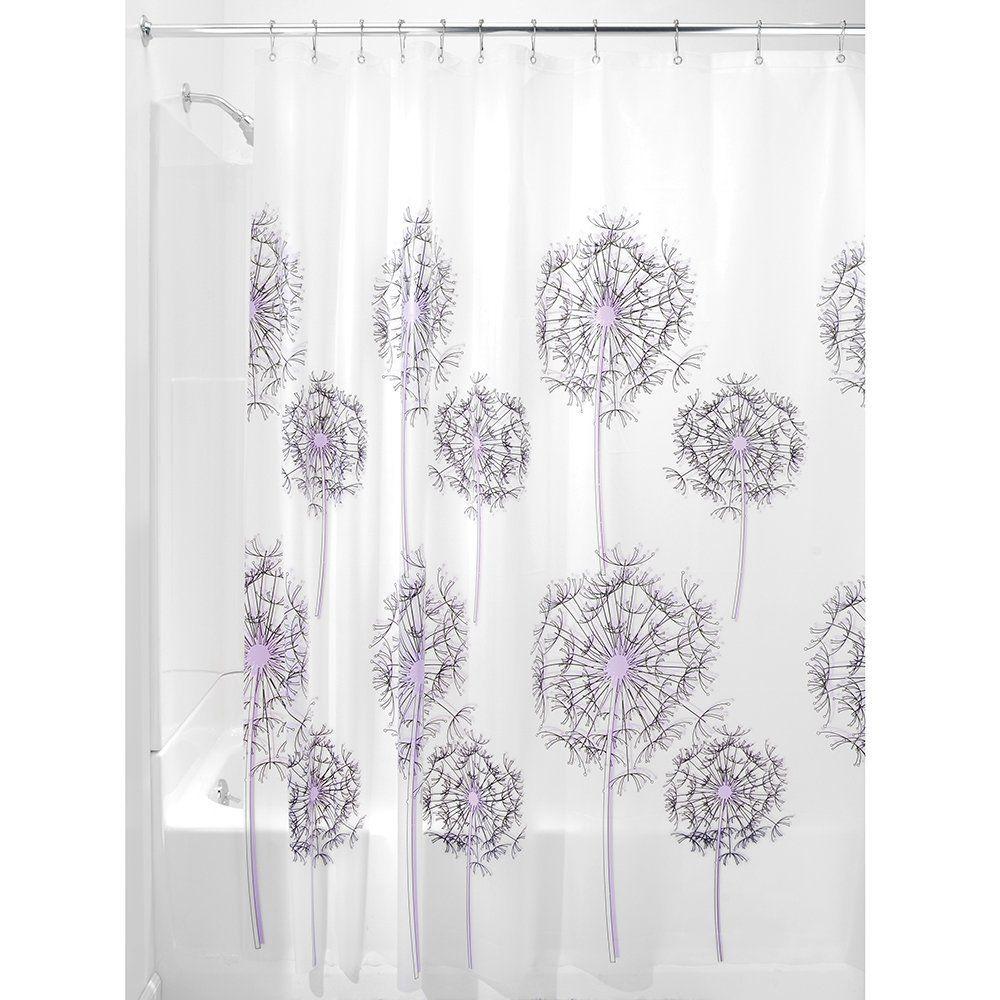 Amazon Com Interdesign Allium 72 Inch By 72 Inch Shower Curtain