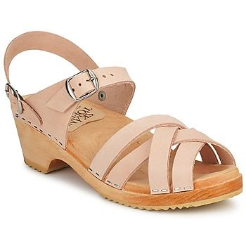 Sandaalit nahkaa Le comptoir scandinave  BEIGE 56 e leather sandals