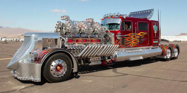 24-Cylinder Monster Truck Big Rig Sells for $12 Million
