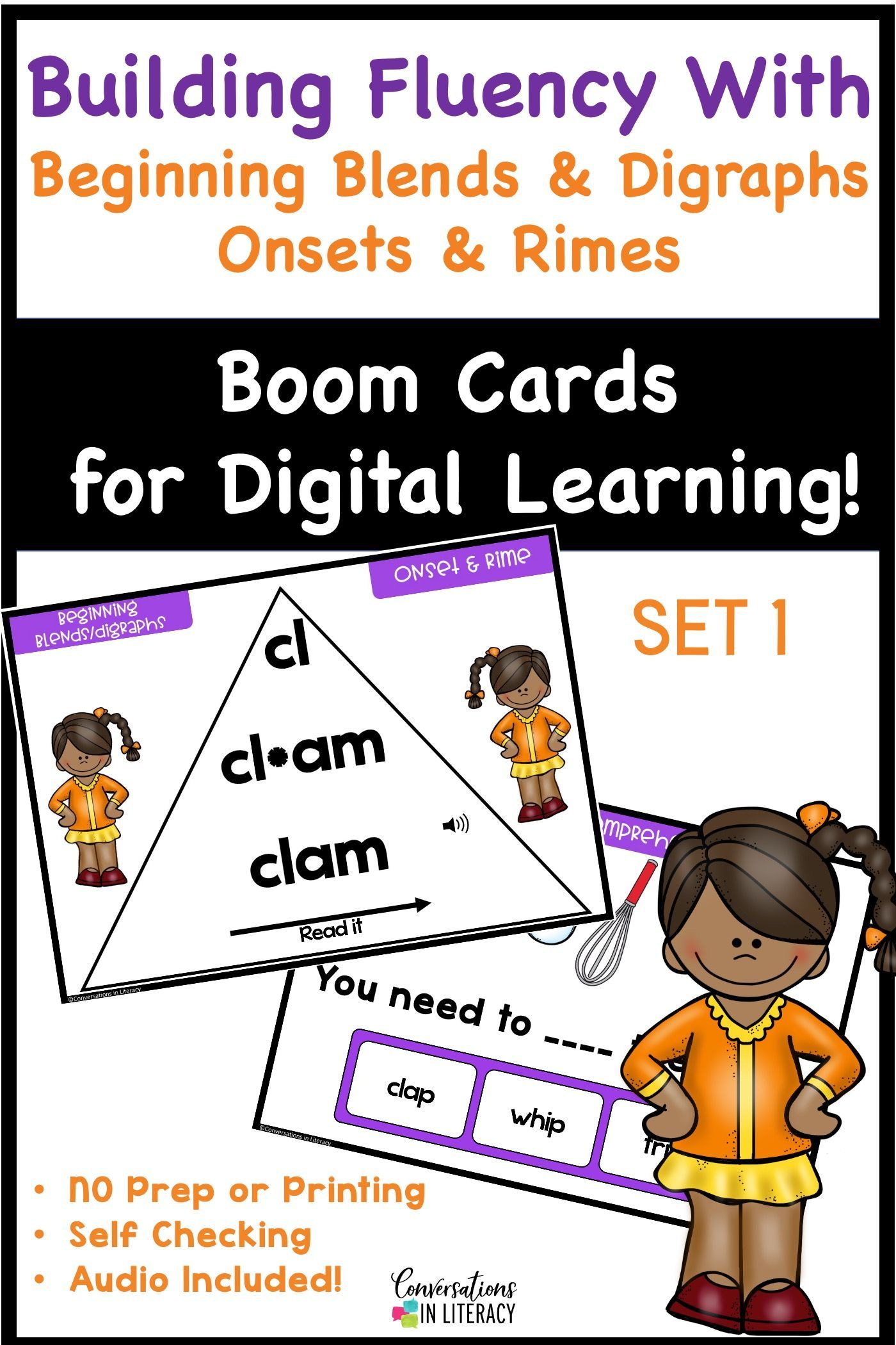 Beginning Blends And Digraphs Onset And Rime Word Fluency