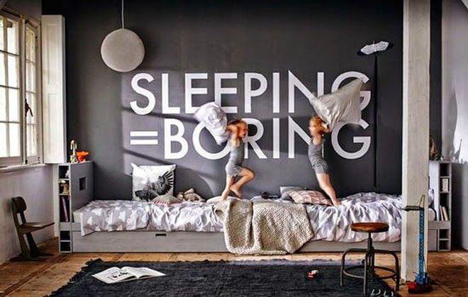 A Fun And Modern Sibling Kidsu0027 Room On The Handmade Childhoods Blog By  Fleur +