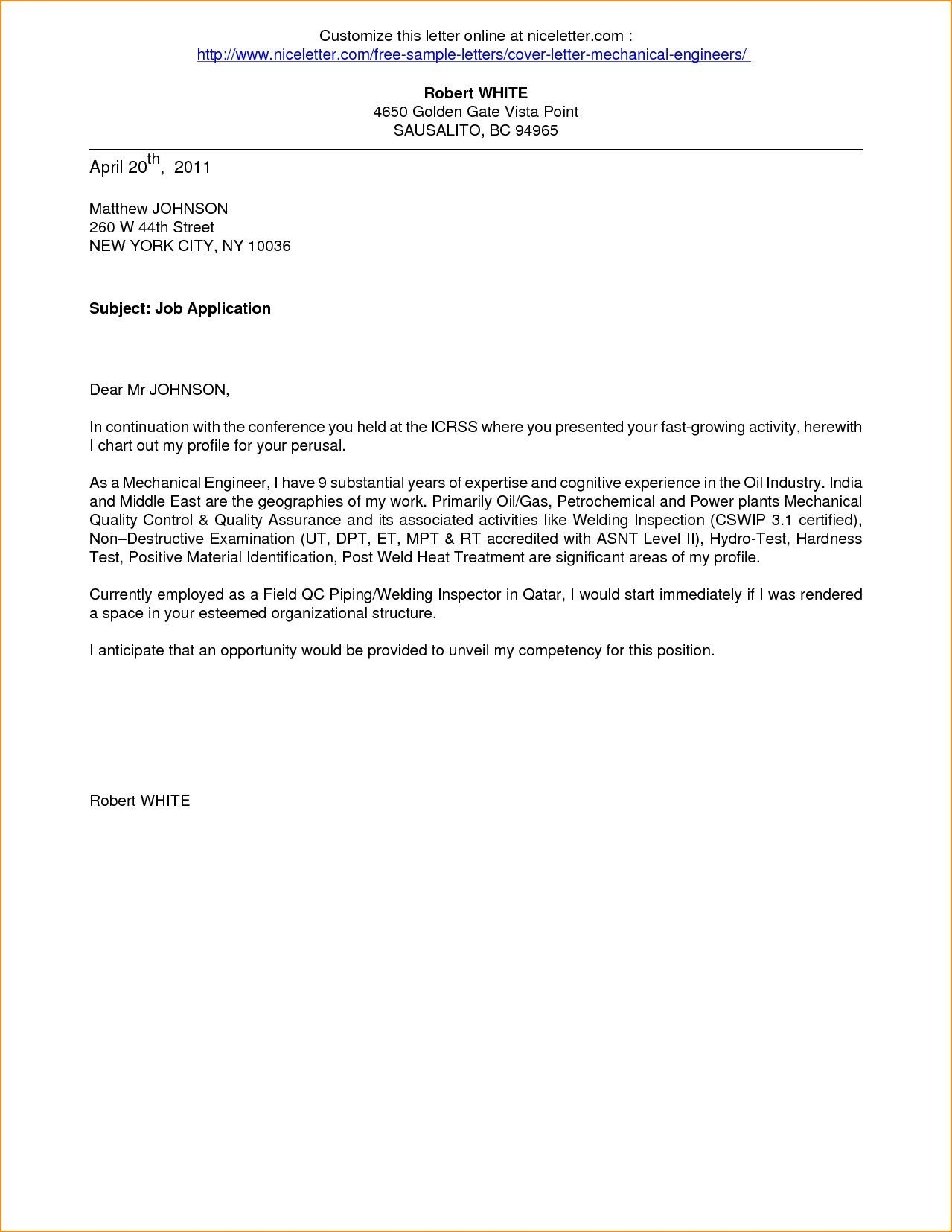 26 Cover Letter Sample Pdf In 2020 Writing A Cover Letter