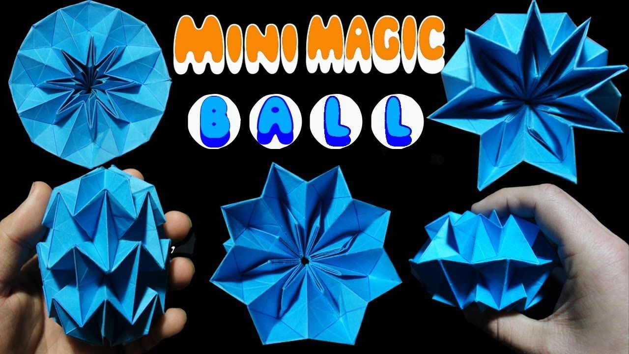 Largest Origami magic ball challenge | 720x1280