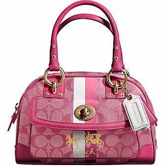 buy cheap  Pink Coach bag. Cute.