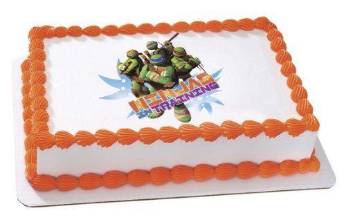 Teenage Mutant Ninja Turtles Edible Cake Topper Decoration Edible Image Cake Topper Edible Icing Images Edible Image Cake