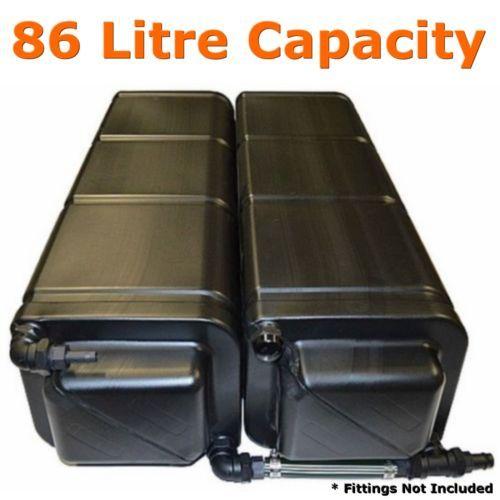 Modular Caravan Amp Rv Water Tank 86 Litre 2 X 43l Camper Trailer