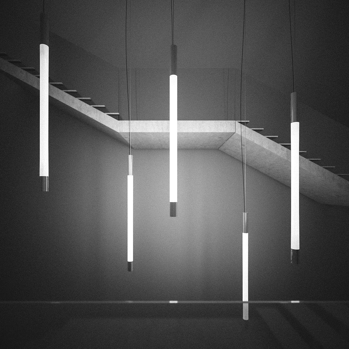 Hanging Fluorescent Lighting   Lighting Ideas