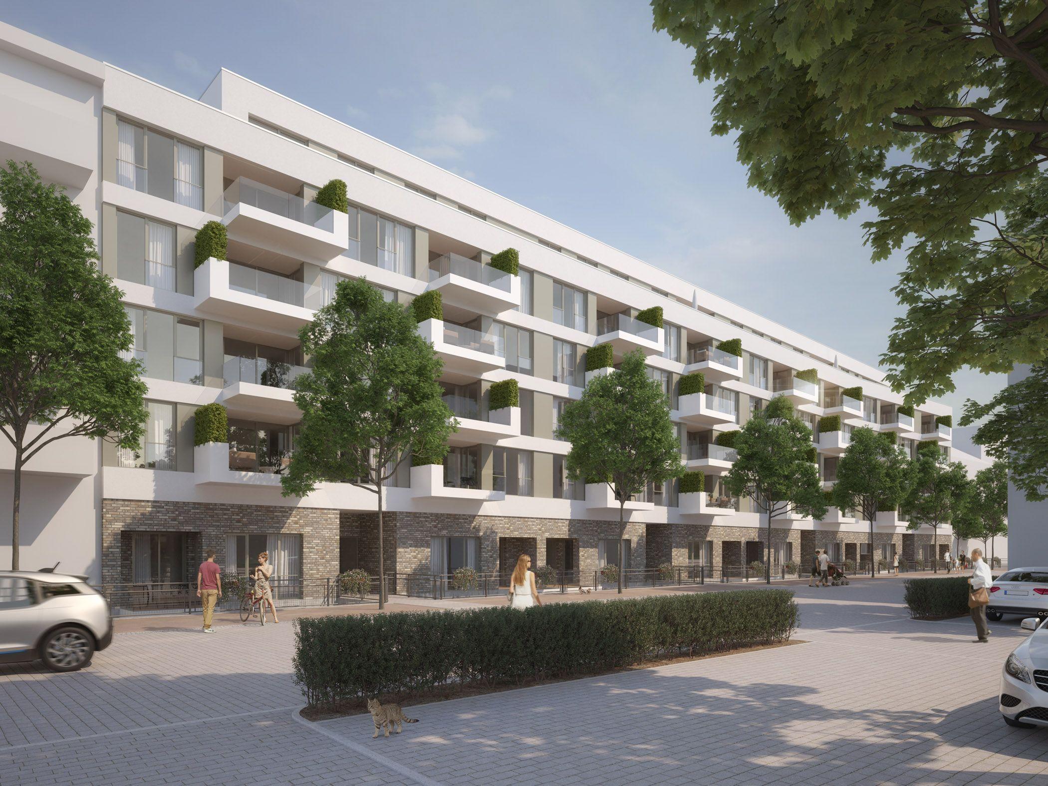 Architekturvisualisierung Stuttgart hafner areal pforzheim raumlabor3 architekturvisualisierung aus