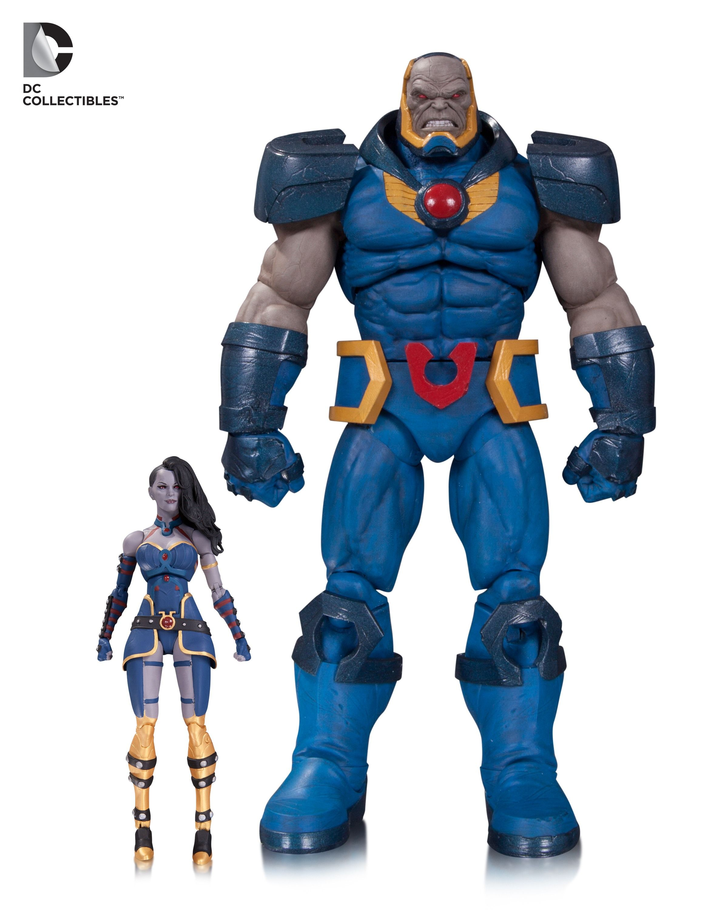 DCC DC Icons Darkseid and Grail 1 | Action Figures ~Retail~ | Pinterest