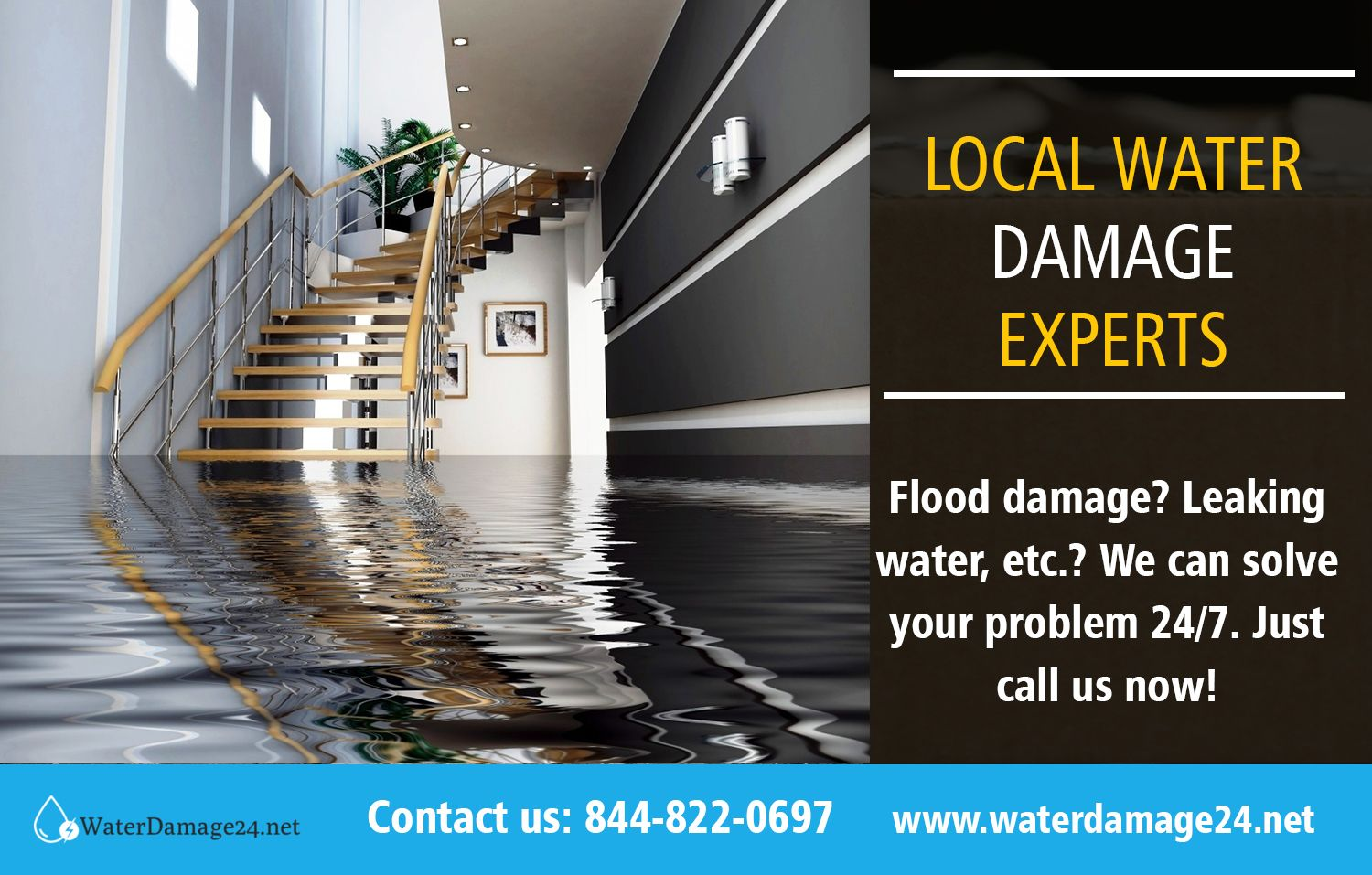 Local water damage experts call 8552028632