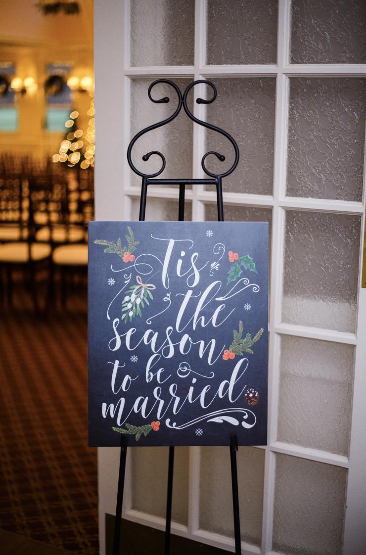 Hochzeitsideen im Winterwunderland. Ideen für Beschilderungen im Winterwunderland. Hochzeitssigna …   – Wedding