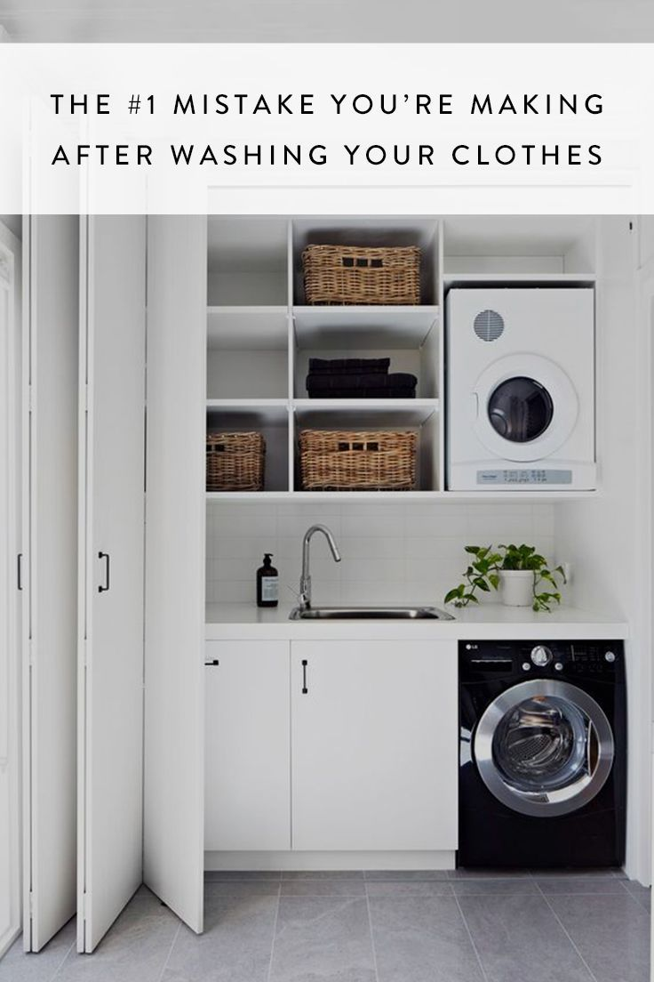 the 1 mistake you re making with your washing machine laundry rh pinterest com