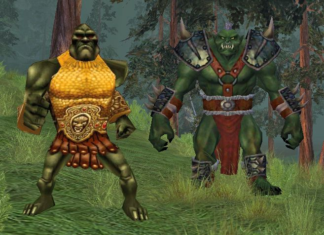 EverQuest Orcs, then and now! | EverQuest | Gaming computer, Games