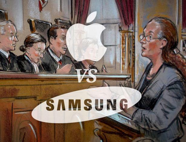 IP LAW: Samsung Liable for Violation of Patent Law  Samsung terá que pagar multa à Apple por violação de patentes http://www.maiscelular.com.br/noticias/samsung-tera-que-pagar-multa-a-apple-por-violacao-de-patentes/70
