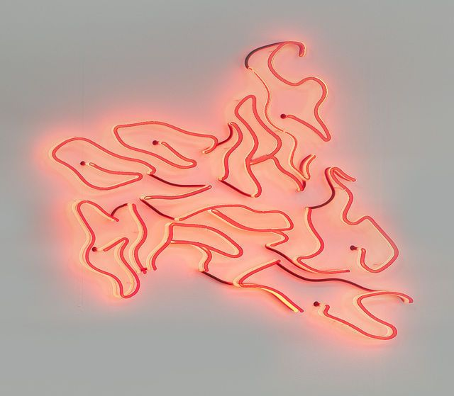 Robert Lazzarini, neon sign (girls, girls, girls) (0211)
