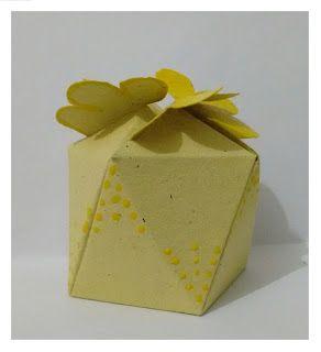 Fina Flor: Caixinha amarela