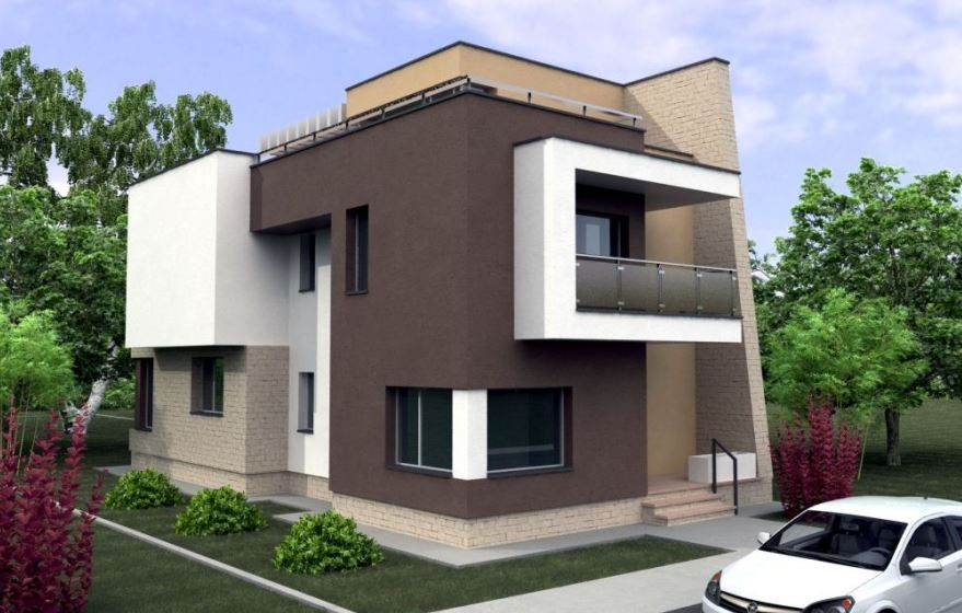 Modelos de casas de dos pisos por fuera casa moderna for Casa moderna por fuera