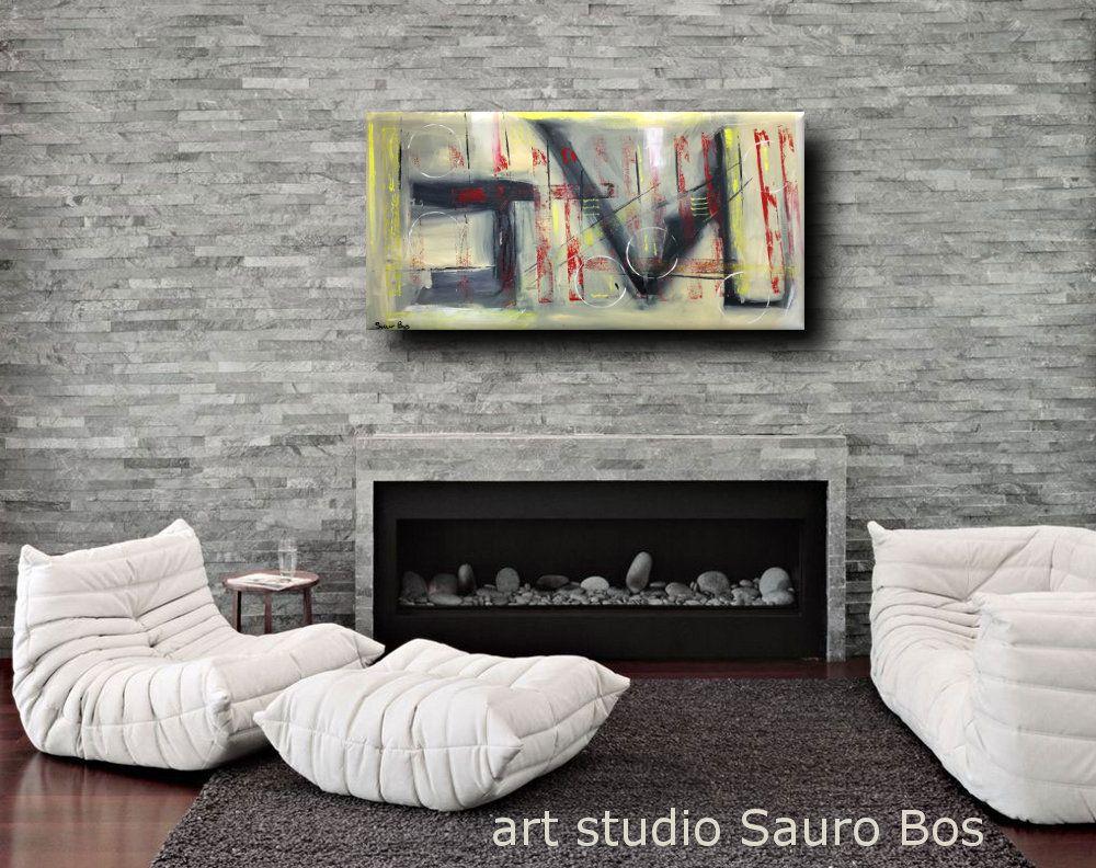 quadri-moderni-su-tela-colorati-grandi-dimensioni-120x60 | dipinti ...
