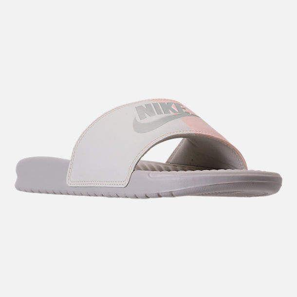 d3d3dbd38 Women's Nike Benassi JDI Swoosh Slide Sandals #style #fashion #shopping  #deals #shoes