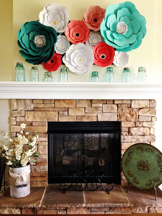 Pen n paper flowers craft giant paper flowers home decor pen n paper flowers craft giant paper flowers mightylinksfo