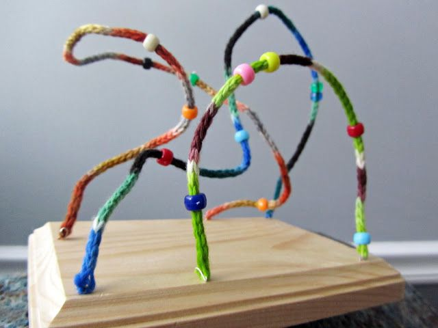 Knitting Up A Storm: DIY: Bead & Wire Toy Tutorial | Kid Fun ...