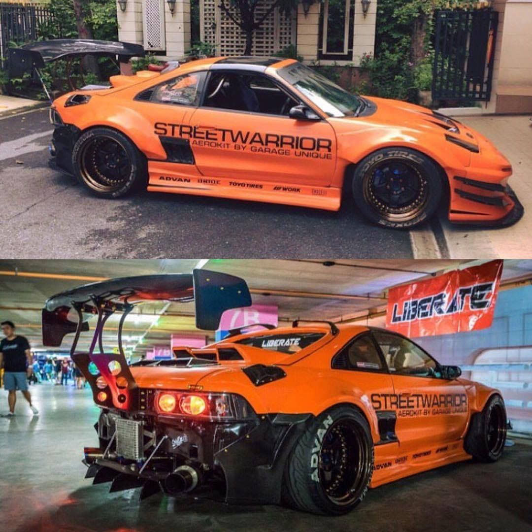 Alfa img showing gt mr2 stance background - Toyota Mr2 Sw20
