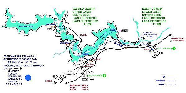 Plitvicka Jezera Lower Lake Upper Lake Lake