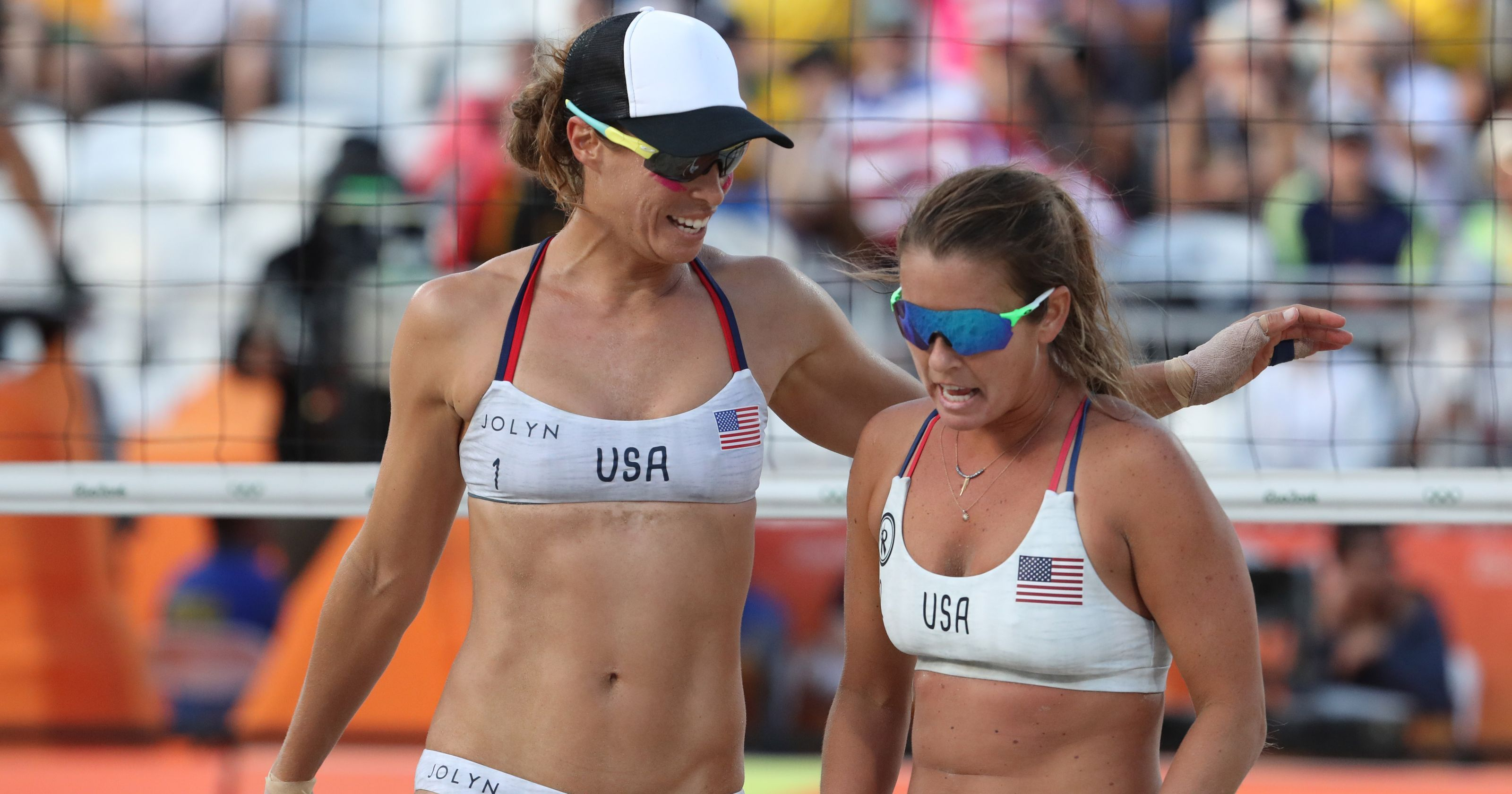 U S Women S Beach Volleyball Team Eliminated From Rio Tournament Beach Volleyball Volleyball Team Female Athletes