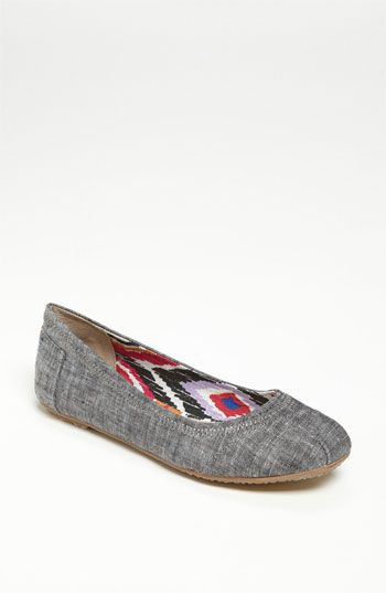 d6ac96d98 TOMS 'Natalia' Ballet Flat available at #Nordstrom - also want- Bday or  Christmas I'm thinking.
