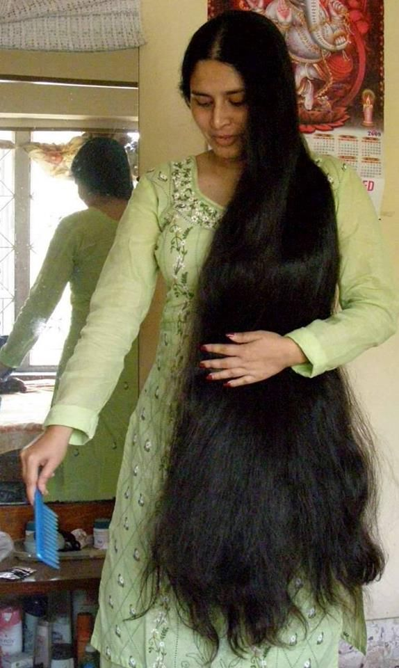 beautiful indian long hair rapunzel's